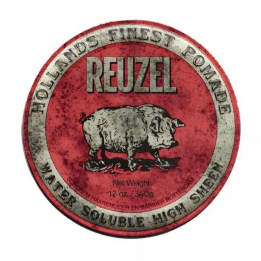 Reuzel Red Pomade - medium hold high shine 340g