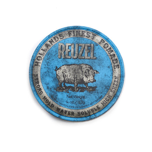 Reuzel Blue Pomade - strong hold high shine 113g