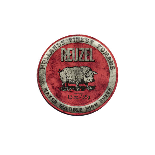 Reuzel Red Pomade - medium hold high shine 35g